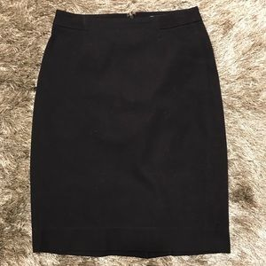 Navy Gap pencil skirt